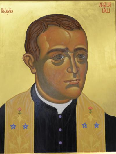 Don Angelo Lolli icona